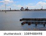 the embankment of the izhevsk...   Shutterstock . vector #1089488498