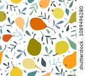 vector seamless pattern with...   Shutterstock .eps vector #1089496280