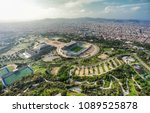 barcelona aerial panorama ... | Shutterstock . vector #1089525878