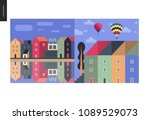 simple things   color   flat...   Shutterstock .eps vector #1089529073