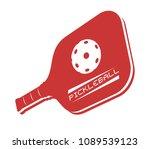 pickleball icon design | Shutterstock .eps vector #1089539123