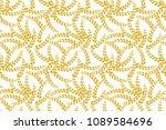 vector seamless wheat... | Shutterstock .eps vector #1089584696