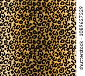leopard pattern illustration | Shutterstock . vector #1089627329