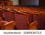 numbered theater chairs with... | Shutterstock . vector #1089636713