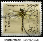 germany   circa 1991  a stamp... | Shutterstock . vector #108964868