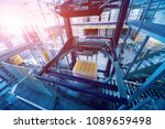 strapping machine for packaging ... | Shutterstock . vector #1089659498