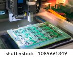 electronic circuit board... | Shutterstock . vector #1089661349