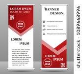 vertical polygonal banners   Shutterstock .eps vector #1089668996