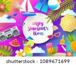 flat design vector illustration.... | Shutterstock .eps vector #1089671699