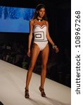 miami   july 21  model walks... | Shutterstock . vector #108967268