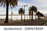 late afternoon view on the... | Shutterstock . vector #1089678509