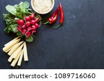 organic food concept | Shutterstock . vector #1089716060