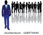 business people | Shutterstock .eps vector #108974444