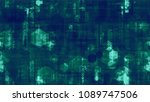 futuristic matrix cyberspace... | Shutterstock .eps vector #1089747506