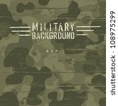 camouflage military background. ... | Shutterstock .eps vector #108975299