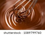 chocolate. mixing melted liquid ... | Shutterstock . vector #1089799760