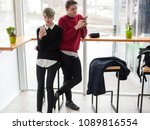 youth lifestyle. mobile phone... | Shutterstock . vector #1089816554