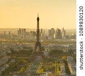 paris eiffel tower | Shutterstock . vector #1089830120