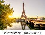 paris eiffel tower | Shutterstock . vector #1089830144