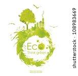 illustration environmentally... | Shutterstock . vector #108983669