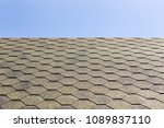 textured roof of building with... | Shutterstock . vector #1089837110