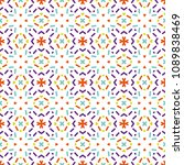 ancient geometric pattern in... | Shutterstock . vector #1089838469