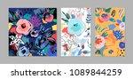 creative universal artistic... | Shutterstock .eps vector #1089844259