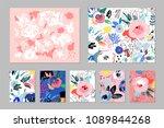 creative universal artistic... | Shutterstock .eps vector #1089844268