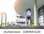 back to school education...   Shutterstock . vector #1089853130