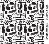 Seamless Pattern With Scratche...