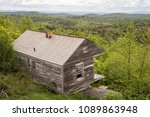 historic cabin at overlook at... | Shutterstock . vector #1089863948