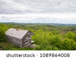 historic cabin at overlook at... | Shutterstock . vector #1089864008