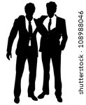 business people | Shutterstock .eps vector #108988046