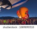 october 7  2017   albuquerque ... | Shutterstock . vector #1089890510