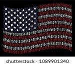 christian cross items are... | Shutterstock .eps vector #1089901340