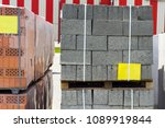 brick for building of houses | Shutterstock . vector #1089919844