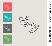 mask   vector icon. symbol for...