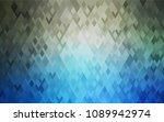 dark blue vector abstract... | Shutterstock .eps vector #1089942974