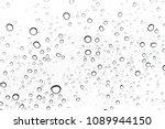 rain drops on window glasses... | Shutterstock . vector #1089944150