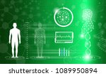 abstract background technology... | Shutterstock .eps vector #1089950894