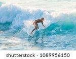 bogliasco  italy  october 6 ... | Shutterstock . vector #1089956150