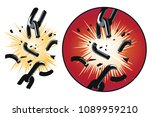 stock illustration. vector... | Shutterstock .eps vector #1089959210