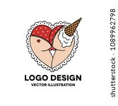 ass illustration traditional... | Shutterstock .eps vector #1089962798