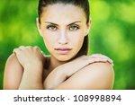 portrait of young beautiful... | Shutterstock . vector #108998894
