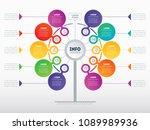 business presentation concept... | Shutterstock .eps vector #1089989936