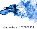 somalia smoke flag | Shutterstock . vector #1090003154