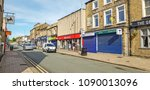brighouse  uk  may 13  2018 ... | Shutterstock . vector #1090013096