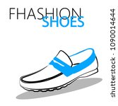 fashion shoes sketch | Shutterstock .eps vector #1090014644