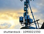 3g  4g and 5g cellular. base... | Shutterstock . vector #1090021550