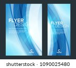 business brochure cover or... | Shutterstock .eps vector #1090025480